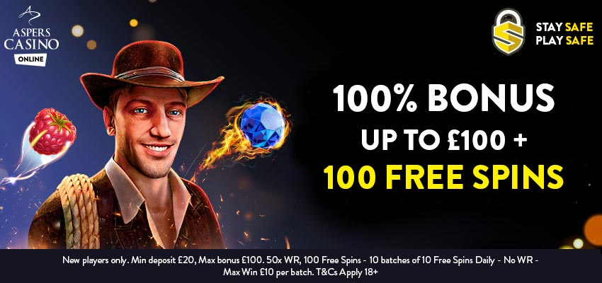 lady luck deluxe aspers free spins bonus code