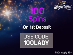 lady luck deluxe regal wins first deposit code